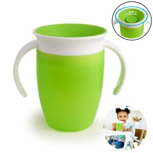 TASSE D'APPRENTISSAGE Tasse d'apprentissage Miracle 360° Tasse anti-fuit