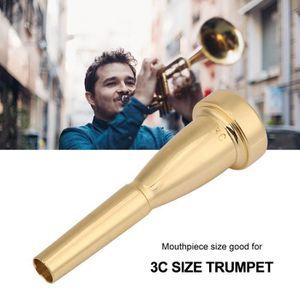 Argent FRjasnyfall Embouchure Trompette 3C Taille Pour Pour Bach Embouchure Trompette En M/étal Pour High Register Et Compl/éments De Trompette Do