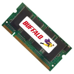 MÉMOIRE RAM 512Mo RAM PC Portable SODIMM Buffalo BT-DN333-D512