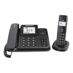 Téléphone fixe Doro Comfort 4005 Filaire-sans fil système de répo