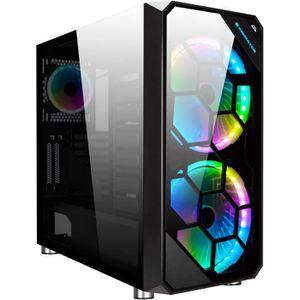 BOITIER PC  XIGMATEK - Zest (RGB) - Boitier PC sans alimentati