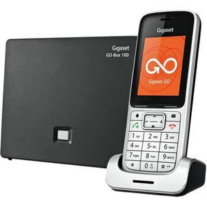 Téléphone fixe Gigaset SL450A GO Téléphone sans fil-téléphone VoI