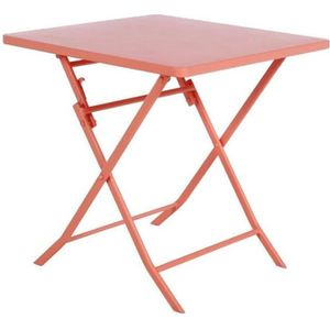 Hespéride Table Ronde Greensboro Terracotta Tables de jardin ...