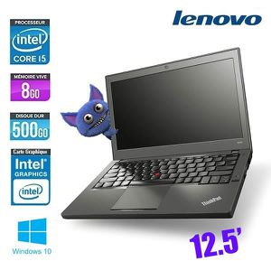 Vente PC Portable LENOVO THINKPAD X240 CORE I5 pas cher