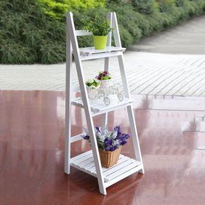 ETAGÈRE MURALE LESHP Etagère Murale-escalier pliable avec 3 table