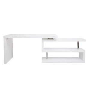 BUREAU  Miliboo - Bureau design modulable blanc mat MAX