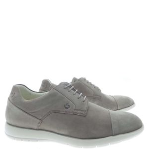 MOCASSIN Samsonite Lace Shoes Homme Taupe