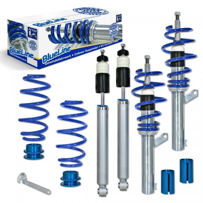 Kit combine filete, JOM BlueLine, VW Eos 1.6 /2.0/ 2.0T/ DSG/ 1.9TDi O 50/55 mm!! sauf Quattro, filetage/ressort