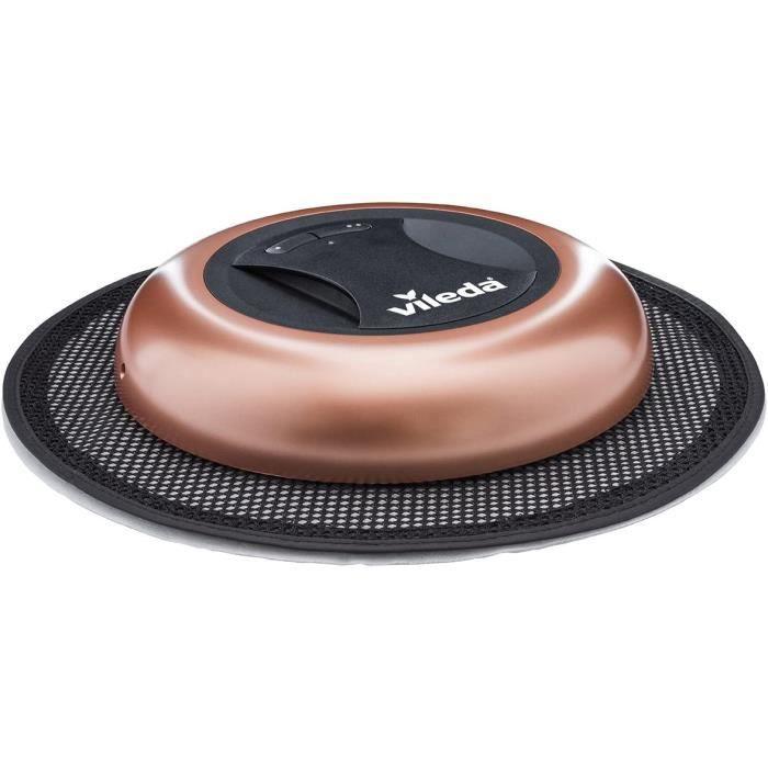Vileda Virobi Slim Robot aspirateur Virobi Slim, couleur : or rosé rose
