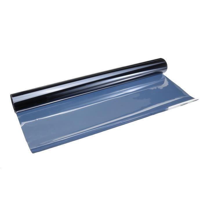 PARE-SOLEIL Pour Voiture de Anti-UV Teinte De Fenêtre Film Solaire Noir 3X40 CM Aw43351