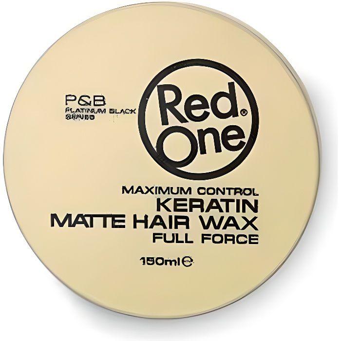 RedOne Keratin Matte Hair Wax Full Force 150ml