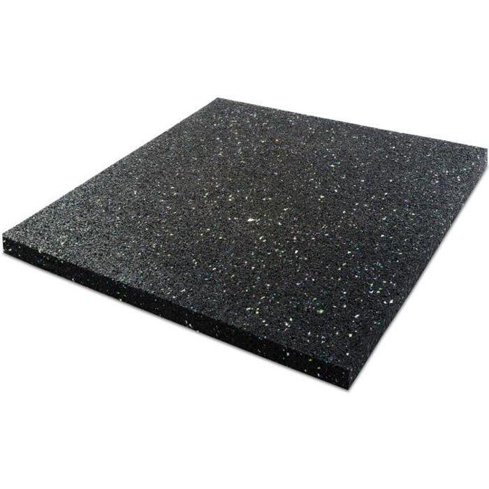 Dalle Anti-Vibration pour Lave-Linge - 60x60 cm Épaisseur 2 cm