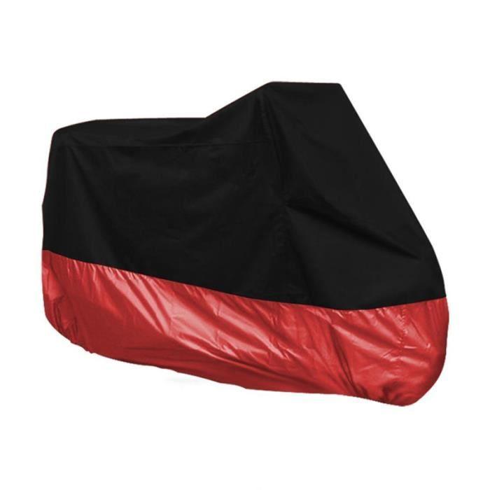 Noir Moto Étanchhe Résistant à l'Eau PLUIE UV couverture de protection vehicule - bache vehicule confort conducteur passager