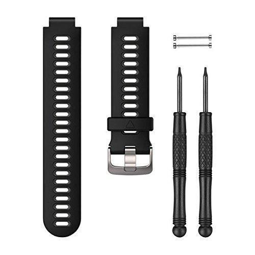 Garmin - Bracelet de Rechange pour Montres Forerunner 935 - 22mm - Silicone - Noir