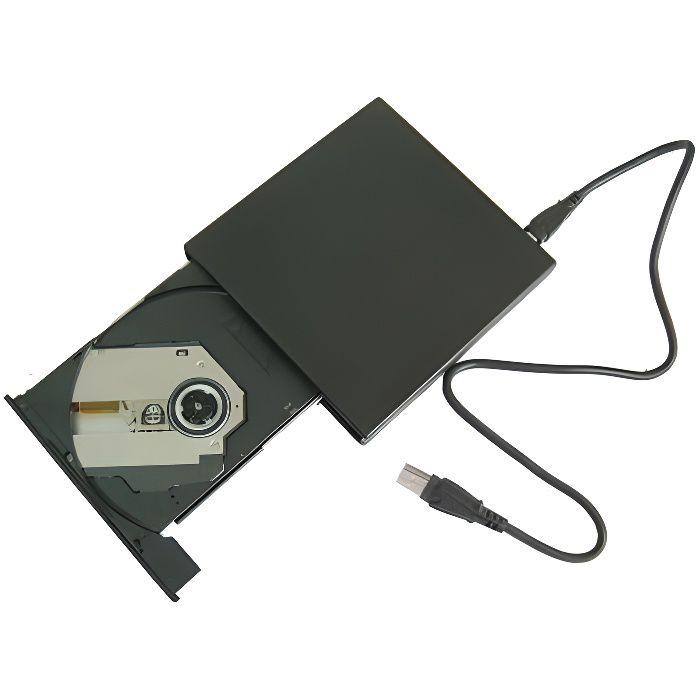 Lecteur/Graveur DVD+RW 24X externe USB