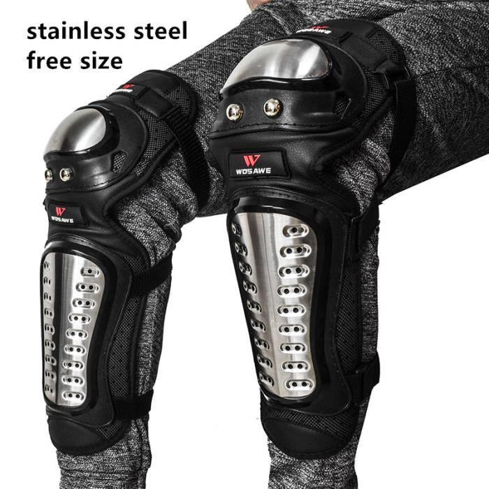 PROTEGE-CHEVILLES - CHEVILLERE,WOSAWE sport genouillères adulte Protection descente vtt vélo corps protecteur - Type BC341 knee