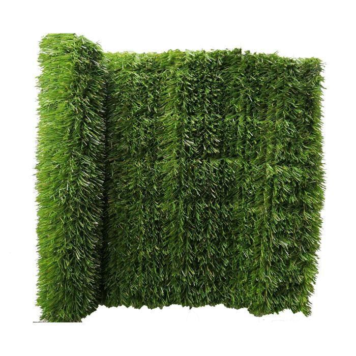 IDEAL GARDEN Haie artificielle 36L - Prime Hedge - Tricolore