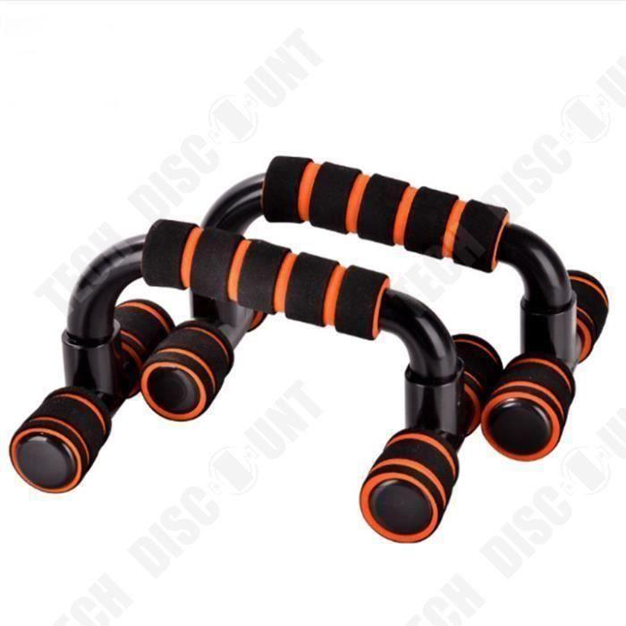 TD® Paire de Barres de Poignées pour Pompe Musculation Fitness Gym/Appareil, Support de Push-up, Equipement de fitness/ Maison-Gym