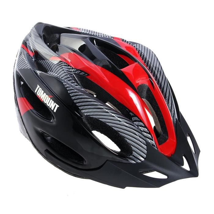 casque v lo vtt vtc bicyclette bike helmet roug prix. Black Bedroom Furniture Sets. Home Design Ideas
