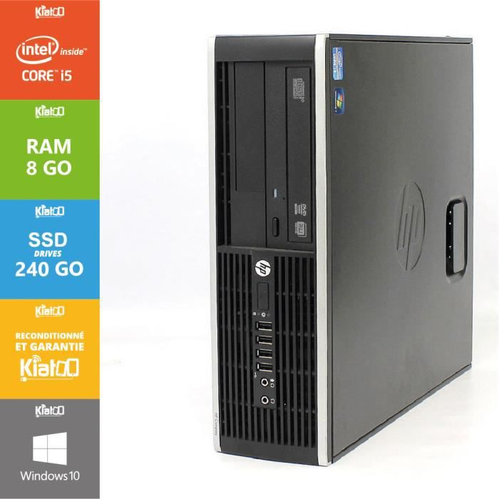Ordinateur Portable Pc Bureau Hp Elite  Core I Go Ram Go Ssd