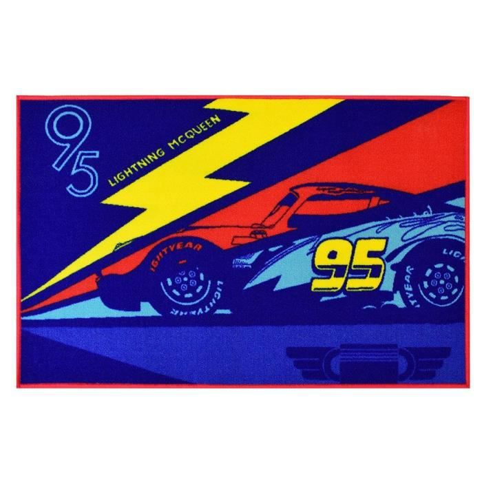 TAPIS Fun House Disney Cars tapis 120x80 cm pour enfant