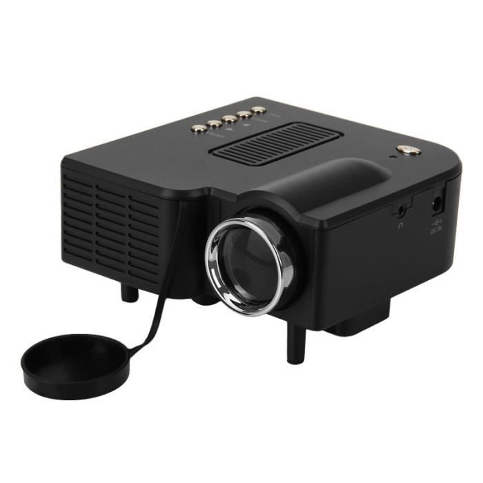 led mini projecteur excelvan uc28 portable accueil. Black Bedroom Furniture Sets. Home Design Ideas