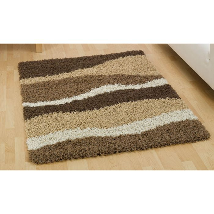 tapis moderne sombre brown beige cm 160x230 achat. Black Bedroom Furniture Sets. Home Design Ideas