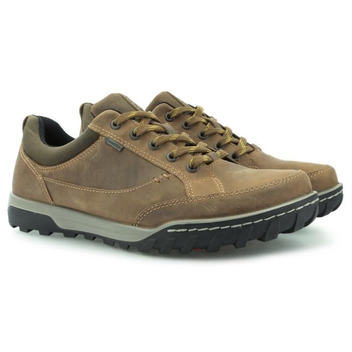 Chaussures Ecco Z Goretex Urban Lifestyle Camel Cocoa Brown
