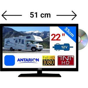 """Téléviseur combiné COMBINÉ TV DVD LED 22"""" (55cm) HD ATVDVD22HDNG - TN"""