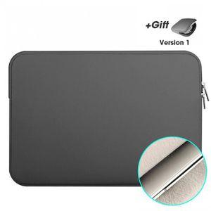 HOUSSE PC PORTABLE Version Dark Gris - 15.6 inch - Pochette D'Ordinat