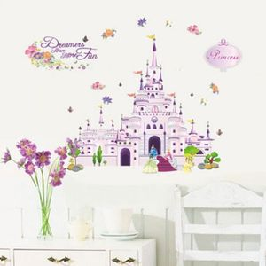 stickers modle ay1905 mur de bande dessine de - Decoration Chambre Princesse