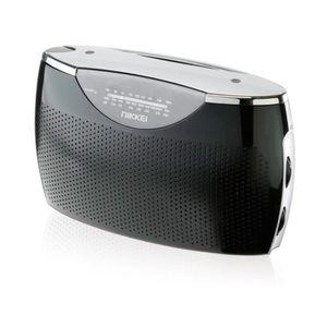 RADIO CD CASSETTE Radio portable AM - FM - LW NIKKEI - NPR100