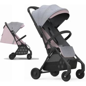 POUSSETTE  Poussette Canne inclinable Bebe2luxe Okto Rose Ult