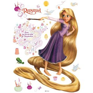 STICKERS DISNEY PRINCESSE RAIPONCE - maxi stickers murau…