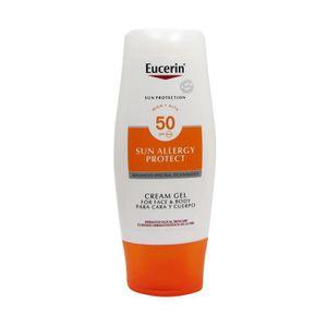 SOLAIRE CORPS VISAGE Eucerin Sun Gel Crème Allergie SPF50 150 ml