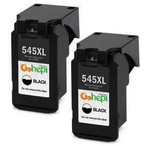 CARTOUCHE IMPRIMANTE 2 Noir Cartouches Canon PG-545 XL pour Canon PIXMA