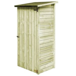 ABRI JARDIN - CHALET Homgeek Abri de Jardin en bois de jardin cabane à