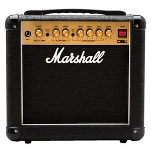 AMPLI PUISSANCE MARSHALL - MMA DSL1COMBO - Ampli guitare - Lampe -