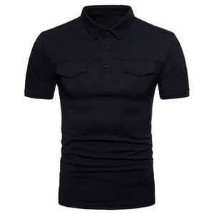 T-SHIRT Polo Homme Sport Golf Tennis Tee Shirt Manches Cou
