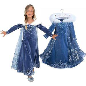 DÉGUISEMENT - PANOPLIE LA REINE DES NEIGES Déguisement de Luxe Elsa