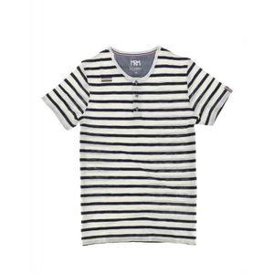 T-SHIRT T-shirt Mister Marcel TIMOUR ECRU/MARINE