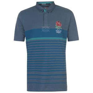 MAILLOT DE RUGBY RFU Polo rugby Pique - homme - bleu