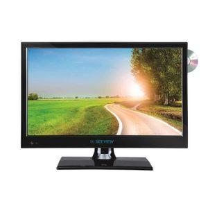 Téléviseur pour véhicule SEEVIEW Télévision LED HD + DVD HD DVB-T2 - 15.6