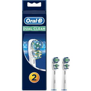 BROSSETTE Oral-B Dual Clean - Brossettes EB417 x2