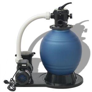 POMPE - FILTRATION  Pompe de filtration à sable 1000 W 16800 l-h 752 x