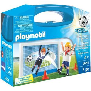 UNIVERS MINIATURE PLAYMOBIL 5654 - Sports & Action - Valisette Foot