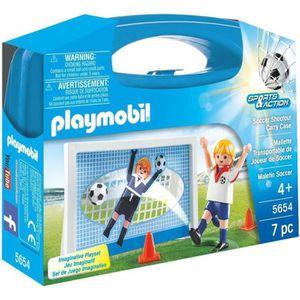 UNIVERS MINIATURE PLAYMOBIL 5654 - Sports & Action - Valisette Foot