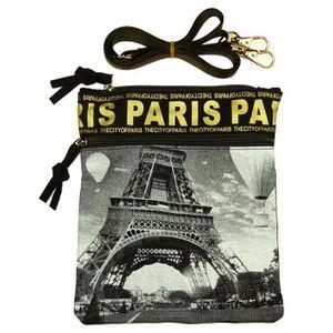 Noir Pochette Passeport Paris Photo Robin Ruth
