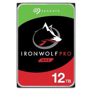DISQUE DUR INTERNE SEAGATE - Disque dur Interne - NAS IronWolf Pro -