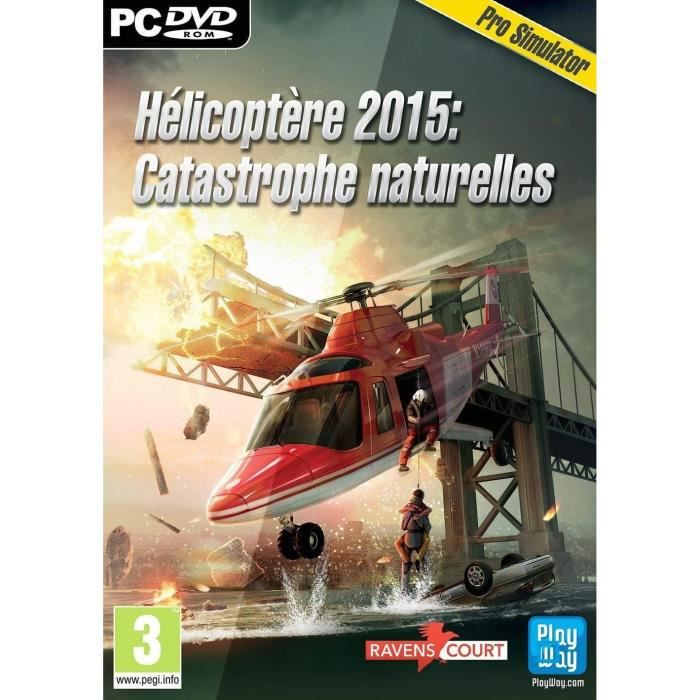helicopt re 2015 catastrophes naturelles jeu pc achat vente jeu pc helicopt re 2015 pc. Black Bedroom Furniture Sets. Home Design Ideas